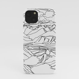 Alec and Echo Lake :: Single Line iPhone Case