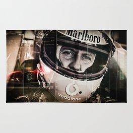 Michael Schumacher Rug