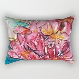 color bunch, flowers, floral Rectangular Pillow