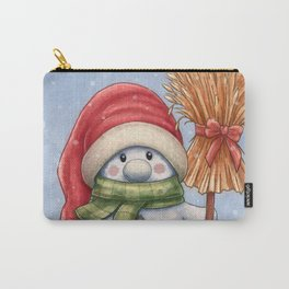 A little snowman Carry-All Pouch