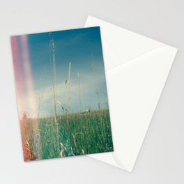 Her Heart Was a Wide Open Landscape Stationery Cards