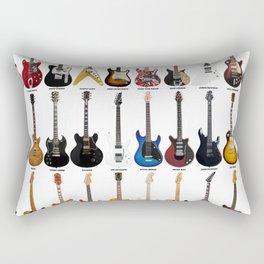 Guitar Legends Rectangular Pillow