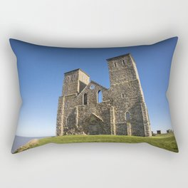 The Reculver, North kent. Rectangular Pillow