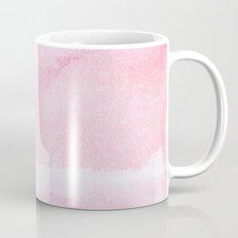 Pink watercolor // texture Coffee Mug