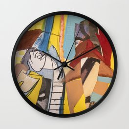 Down and out Wall Clock