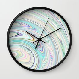 floating colour Wall Clock