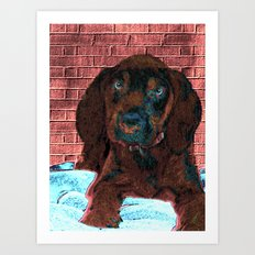 cute puppy Art Print