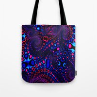 psycho Tote Bags featuring Psycho by Sr. xx