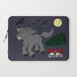 Horror Movie Unicorns: Wolfman Laptop Sleeve