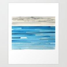 Horizon #1 Art Print