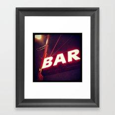 Mission Bar Framed Art Print