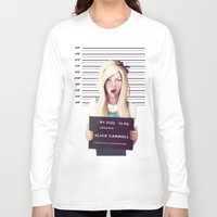 alice Long Sleeve T-shirts featuring Alice by adroverart