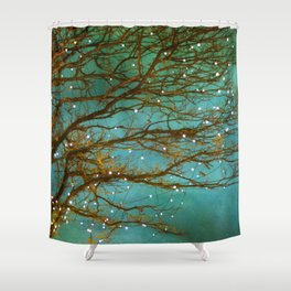 Magical (reversed) Shower Curtain