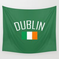 dublin Wall Tapestries featuring Dublin by Earl of Grey