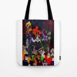 Villains Gallery Tote Bag