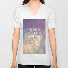 You Are So Beautiful... To Me Unisex V-Neck