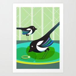 Two For Joy Art Print