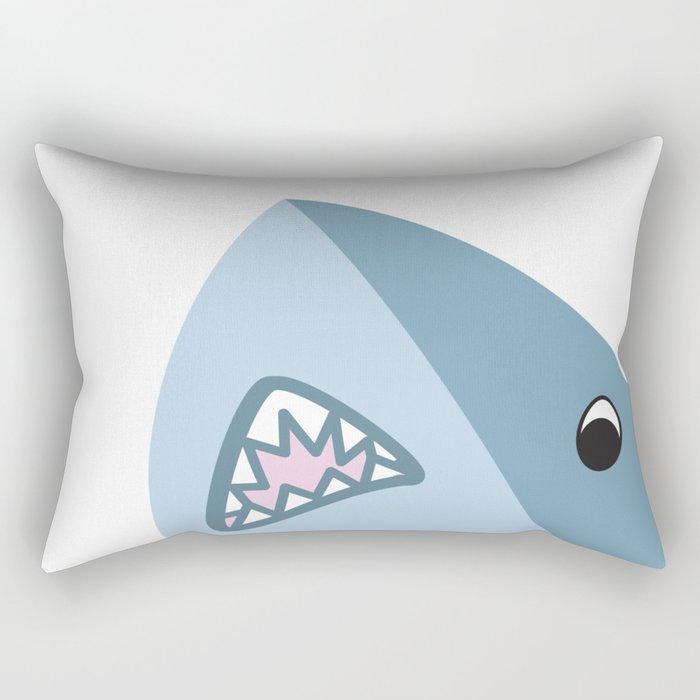 Shark Attack! Rectangular Pillow