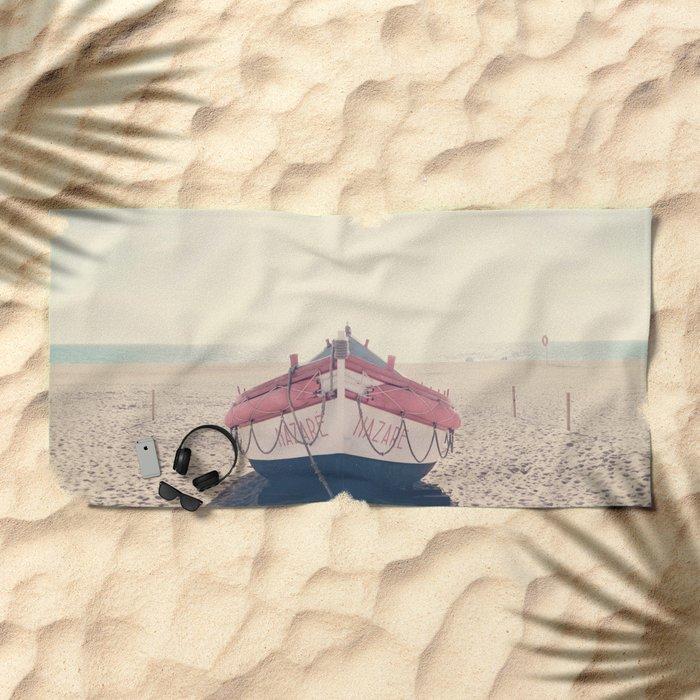 Boat Beach Towel