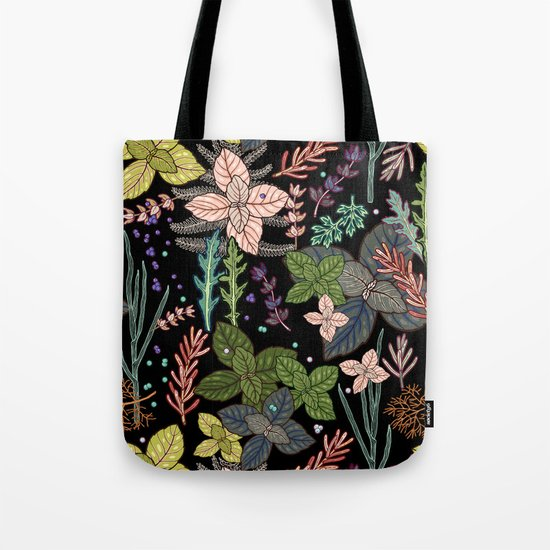 mysterious herbs Tote Bag