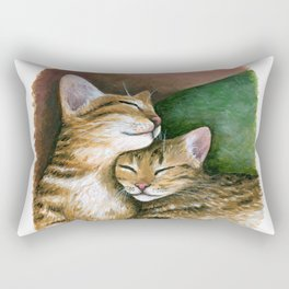 Cat 603 Rectangular Pillow