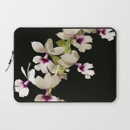 Calanthe rosea Orchid Laptop Sleeve
