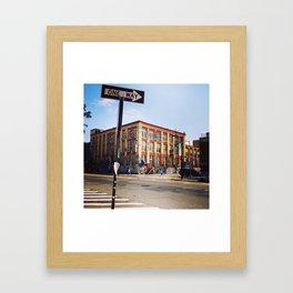 5Pointz Framed Art Print
