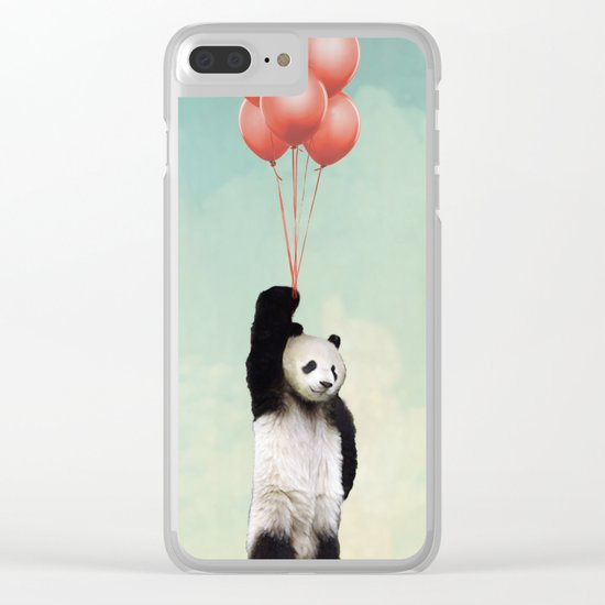 Pandalloons ''' Clear iPhone Case