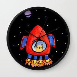 Impossible Astronaut Wall Clock
