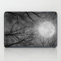tolkien iPad Cases featuring May It Be A Light (Dark Forest Moon) by soaring anchor designs