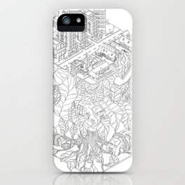City and the junge iPhone Case