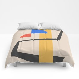 Bauhaus Style Abstract 2 Comforters