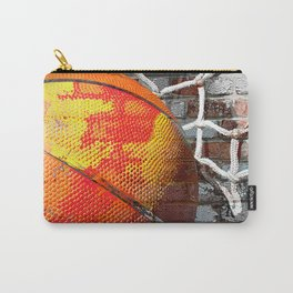 Basketball art swoosh vs 13 Carry-All Pouch