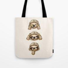 No Evil Sloth Tote Bag