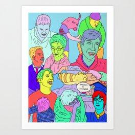 BoysBoysBoys Art Print