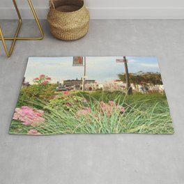 The Spring Flowers in Coney Island Rug