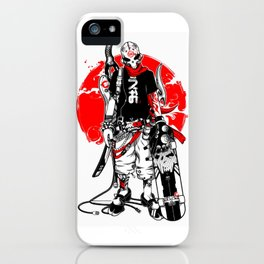punk skater! iPhone Case