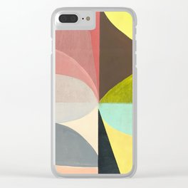 Leaves Singing Clear iPhone Case