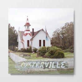 Oysterville Church Metal Print
