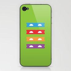 Teenage Minimal Ninja Turtles iPhone & iPod Skin