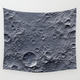 Moon Surface Wall Tapestry