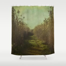 The path into the unknown Shower Curtain