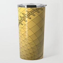 rugby ball Travel Mug