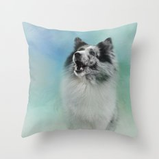 Something To Say Throw Pillow