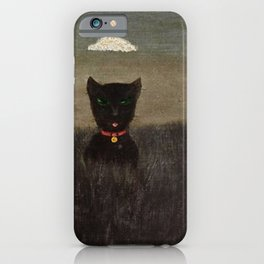 Three Bad Cats ( Tres Gatos Malos) by Gertrude Abercrombie iPhone Case