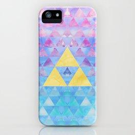 Zelda Geometry iPhone Case