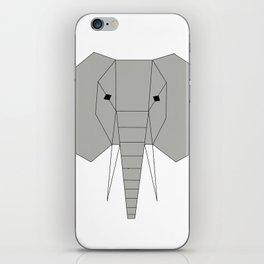 The Angled Elephant iPhone Skin