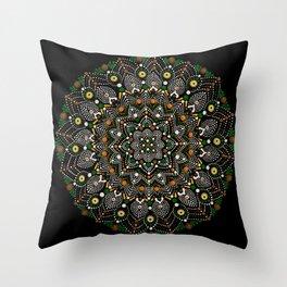 Rain Forest Energy Throw Pillow