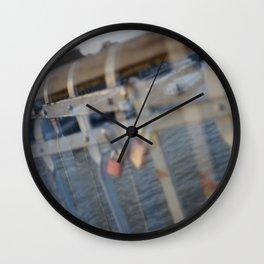 Paris, The Passerelle Debilly Wall Clock