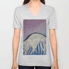 Purple Mountain Skies Unisex V-Neck